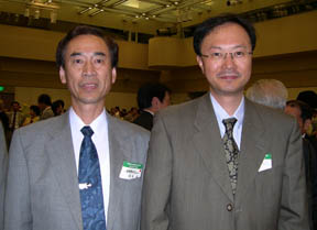 Takeshi Tabira and Hideo Hara